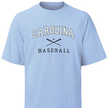 Youth Carolina Baseball Tee - faded design