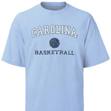Youth Carolina Basketball tee shirt