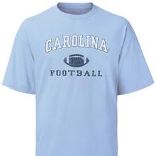 Youth Carolina Football tee shirt - faded design
