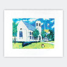 Levere Memorial Temple Artwork Print