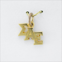 Staggered Letter Lavaliere