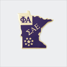 ΣΑΕ Minnesota Pin