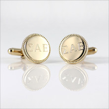 ΣΑΕ Engraved Cufflinks