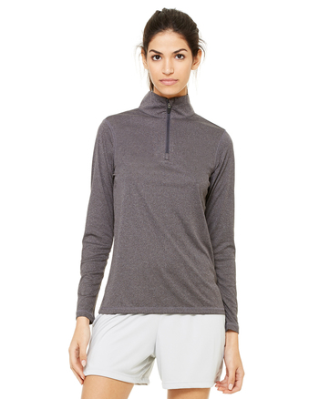 All Sport Ladies' Quarter-Zip Lightweight Pullover