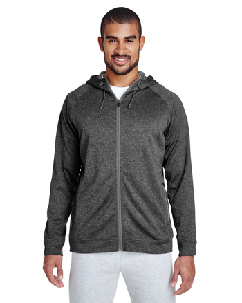 Team 365 Excel Mélange Performance Fleece Jacket