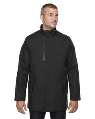 Black 88670 North End Sport Blue Metropolitan Lightweight City Length Jacket