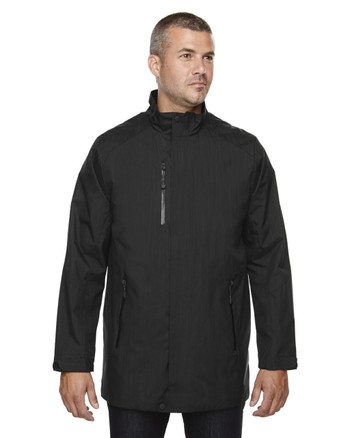 Black 88670 North End Sport Blue Metropolitan Lightweight City Length Jacket | Blankclothing.ca