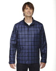 Night 88671 North End Sport Blue Locale Lightweight City Plaid Jacket