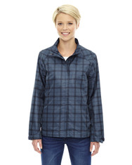 Night 78671 North End Sport Blue Locale Lightweight City Plaid Jacket