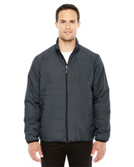 Grphite-Blk 88231 North End Men's Resolve Interactive Insulated Packable Jacket | Blankclothing.ca