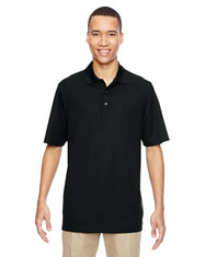 Black 85121 Ash City - North End Excursion Nomad Performance Waffle Polo | Blankclothing.ca
