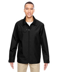 Black 88218 North End Excursion Ambassador Lightweight Jacket with Fold Down Collar