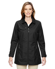 Black 78218 North End Excursion Ambassador Lightweight Jacket with Fold Down Collar