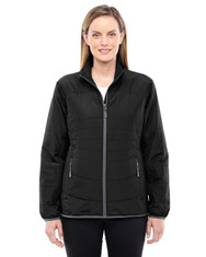 Black/Graphite 78231 North End Resolve Interactive Insulated Packable Jacket