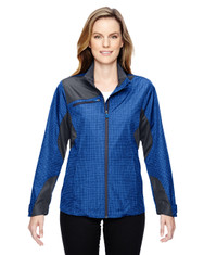 Nautical Blue 78805 North End Sport Red Interactive Sprint Printed Lightweight Jacket