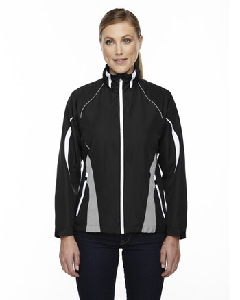 Black 78644 North End Sport Red Impact Active Lite Colourblock Jacket