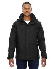 Black - 88130 North End Men's 3-In-1 Jacket