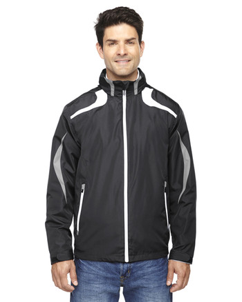 Black 88644 North End Sport Red Impact Active Lite Colourblock Jacket