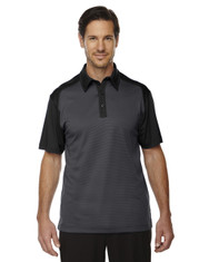 Black 88676 North End Sport Red Symmetry UTK Coffee Performance Polo