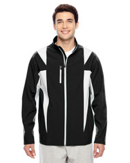 Black/Sport Silver TT82 Team 365 Icon Colourblock Soft Shell Jacket