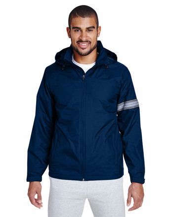 Sport Dark Navy TT78 Team 365 Boost All-Season Jacket with Fleece Lining
