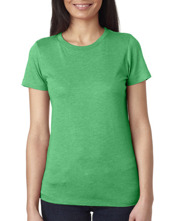 Envy 6710 Next Level Ladies' Tri-Blend Crew | Blankclothing.ca