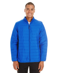 True Royal - CE700 Ash City - Core 365 Men's Prevail Packable Puffer | Blankclothing.ca
