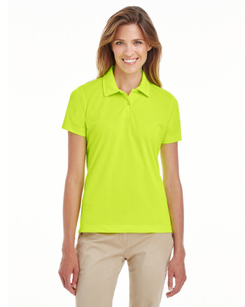 Safety Yellow - TT21W Team 365 Ladies' Command Snag Protection Polo