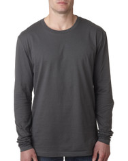 Heavy Metal - N3601 Next Level Men's Premium Fitted Long Sleeve Crew Tee | Blankclothing.ca