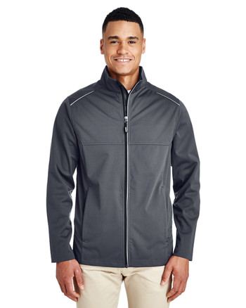 Carbon - CE708 Ash City - Core 365 Men's Techno Lite Three-Layer Knit Tech-Shell | Blankclothing.ca