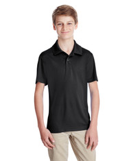 Black - TT51Y Team 365 Youth Zone Performance Polo Shirt