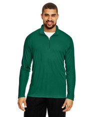 Forest Green - TT31 Team 365 Men's Zone Performance Quarter-Zip
