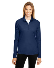 Sport Dark Navy - TT31W Team 365 Ladies' Zone Performance Quarter-Zip