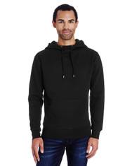 Black - 322H Threadfast Unisex Precision Fleece Hoodie
