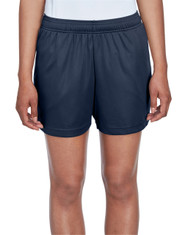 Sport Dark Navy - TT11SHW Team 365 Ladies' Zone Performance Short | T-shirt.ca