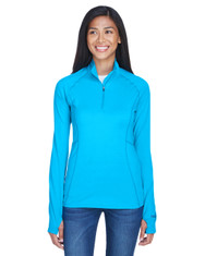 Atomic Blue - 900706 Marmot Ladies' Meghan Half-Zip Pullover | BlankClothing.ca