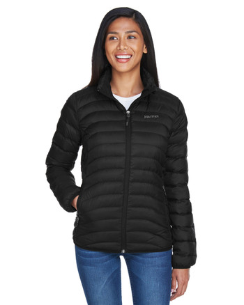 Black - 78370 Marmot Ladies' Aruna Insulated Puffer Jacket | BlankClothing.ca
