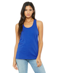 True Royal - B6008 Bella + Canvas Ladies' Jersey Racerback Tank | BlankClothing.ca