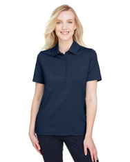 Navy - DG21W Devon & Jones Ladies' CrownLux Performance™ Range Flex Polo Shirt | BlankClothing.ca
