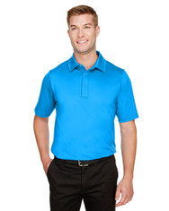 Ocean Blue - DG21 Devon & Jones Men's CrownLux Performance™ Range Flex Polo Shirt | BlankClothing.ca
