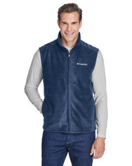 Collegiate Navy - 6747 Columbia Men's Steens Mountain™ Vest | BlankClothing.ca
