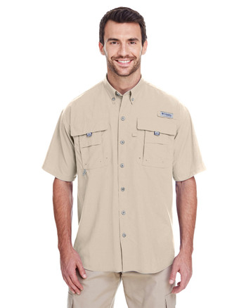 Fossil - 7047 Columbia Men's Bahama™ II Short-Sleeve Shirt | BlankClothing.ca