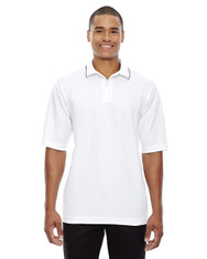 White 85067 Extreme Men's Edry™ Needle Out Interlock Polo Shirt