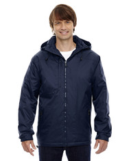 Midnight Navy - 88137 North End Men's Hi-Loft Insulated Jacket