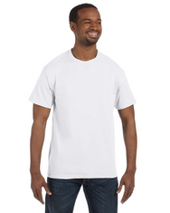 White 29M Jerzees Tee