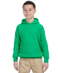 Irish Green Youth Hooded Sweatshirt