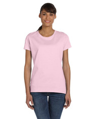 Classic Pink Ladies' Heavy Cotton HD® T-Shirt