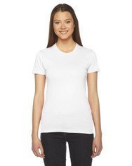 White 2102W American Apparel Ladies' Jersey T-Shirt | Blankclothing.ca