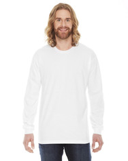White - 2007W American Apparel Jersey Long Sleeved T-Shirt
