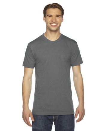 Athletic Grey TR401 American Apparel Unisex Triblend T-Shirt | Blankclothing.ca